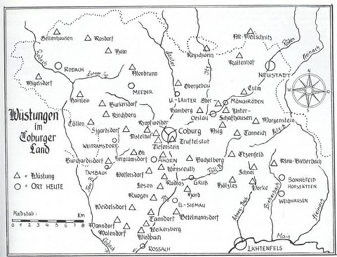 Frohnlach - Chronik in Kurzform